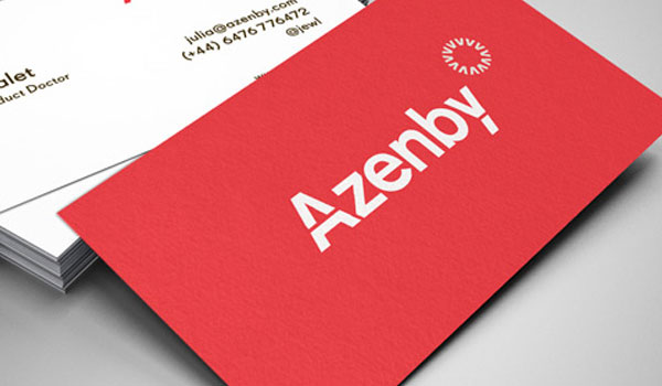 30 exciting red business cards slodive azenby colourmoves