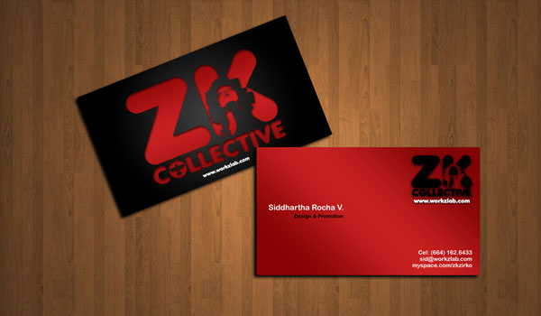 New Red Businesscard