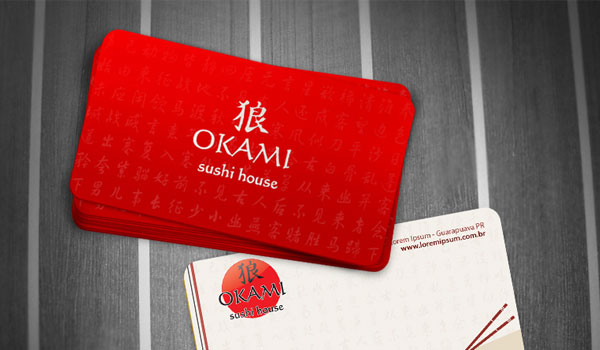 Okami Business Card