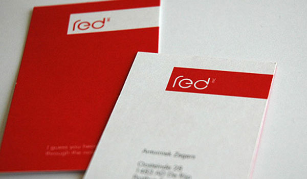 30 Exciting Red Business Cards - SloDive