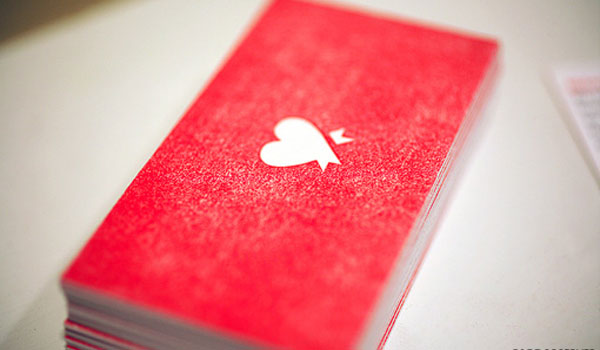 30 exciting red business cards slodive ribbons of red colourmoves