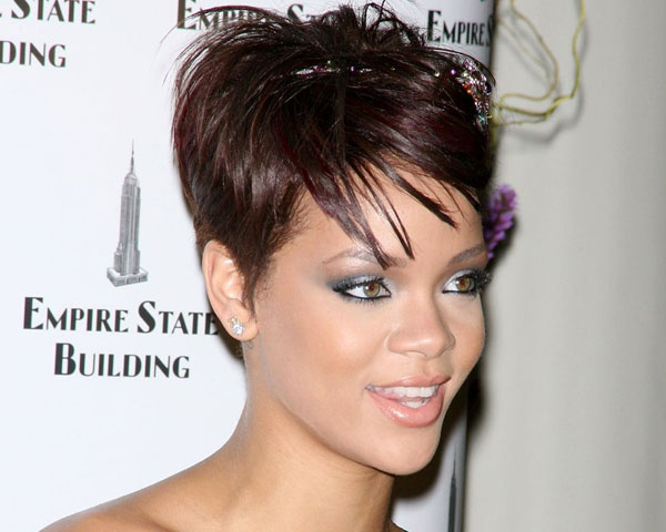 Surprising 60 Rihanna Hairstyles Which Look Extraordinary Slodive Short Hairstyles For Black Women Fulllsitofus