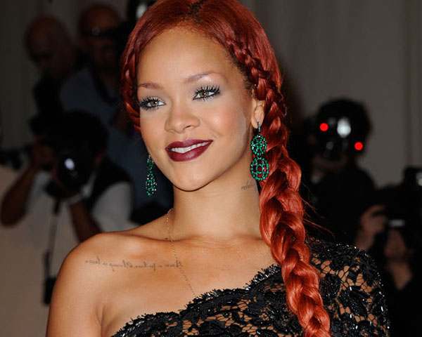 Rihanna Braided Hair