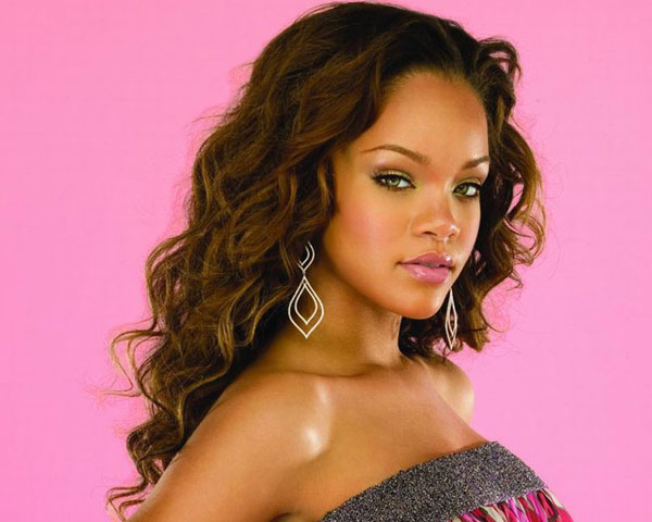 Rihanna Long Hairstyle
