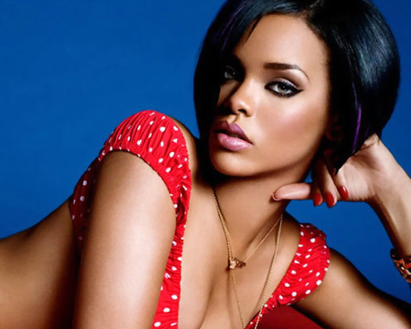 Rihanna Short Black Hair