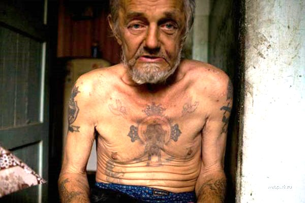god fearing prisoner 25 Awesome Russian Prison Tattoos