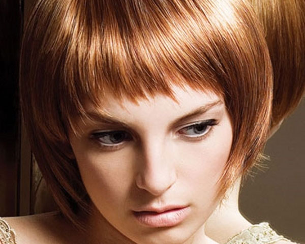 angled bob hairstyle 40 Wonderful Short Bob Hairstyles