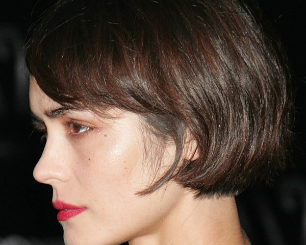 dark brown short bob 40 Wonderful Short Bob Hairstyles