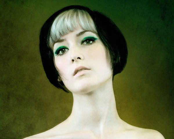 green painting 40 Wonderful Short Bob Hairstyles