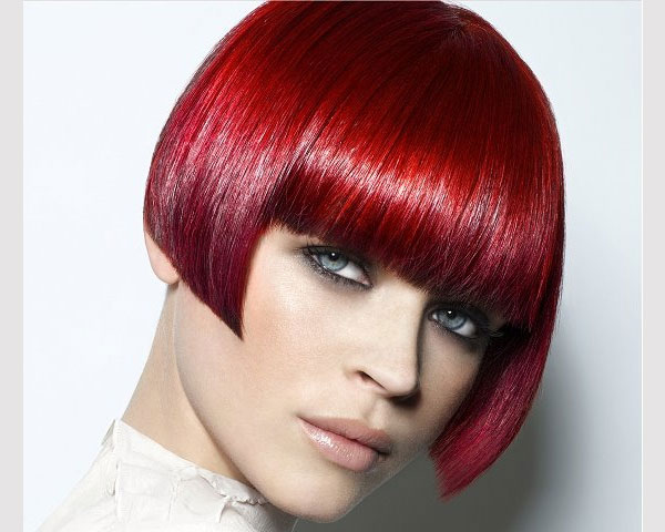 red bob 40 Wonderful Short Bob Hairstyles