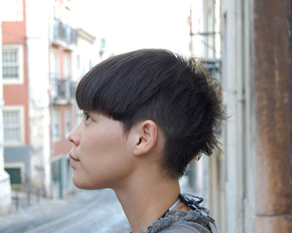 short bob with long fringes 40 Wonderful Short Bob Hairstyles