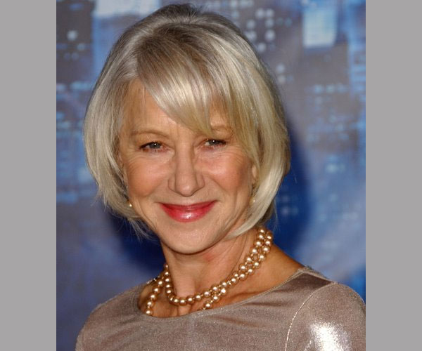 blonde bob 35 Impressive Short Hairstyles For Women Over 50