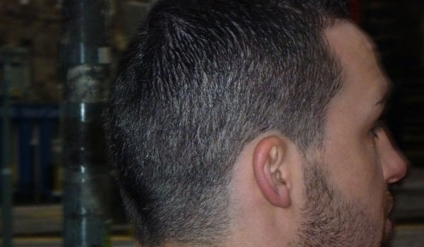 Short Hair Cropped Beard