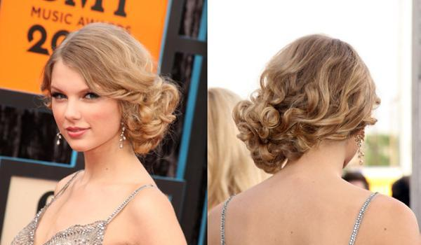 updoes taylor 30 Phenomenal Taylor Swift Hairstyles