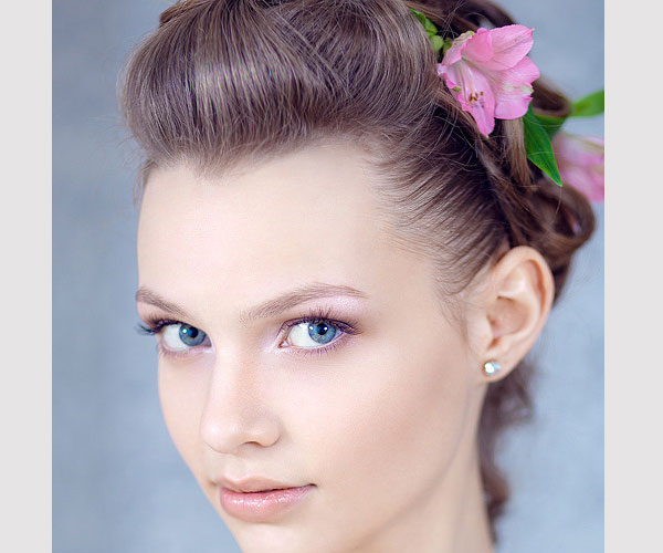 cool updo hair 30 Magnificent Updos For Medium Hair