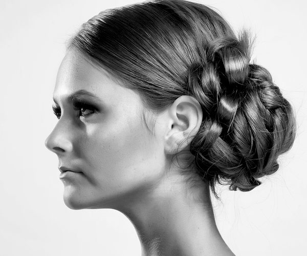 profile 30 Magnificent Updos For Medium Hair