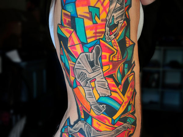Rib Urban Tattoo
