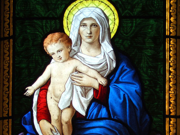 symbolic blue robe 30 Majestic Virgin Mary Pictures