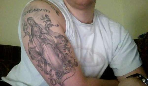 Arm Virgin Mary