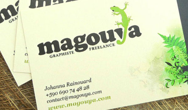 Magouya's Business Card