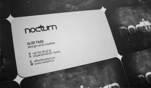 Nocturn Personal Business Card