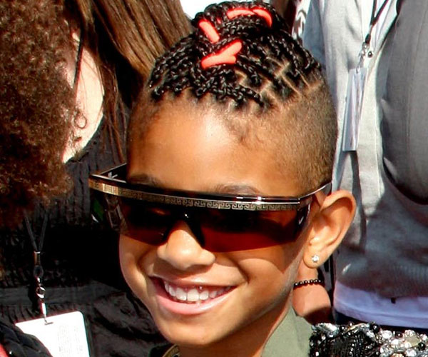 Willow Smith New Hairdo