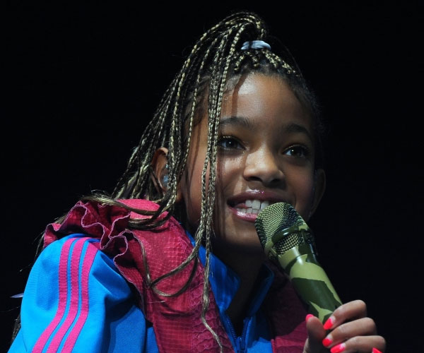 Willow Smith Performing
