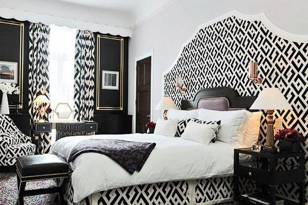 Classy Bedroom Decor  30 Groovy Black And White Bedroom Ideas SloDive. Classy Room Decor