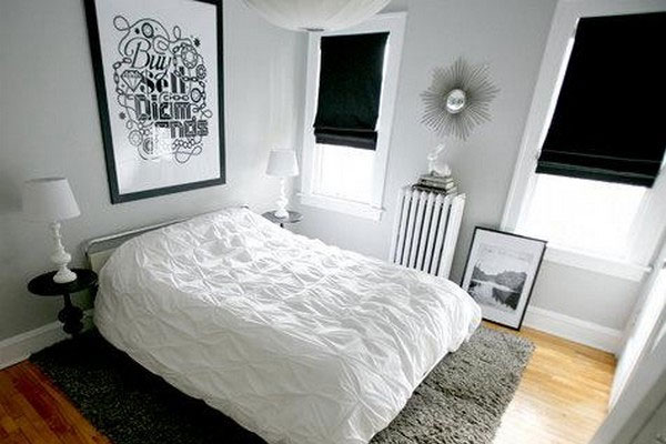 Sober Bedroom. 30 Groovy Black And White Bedroom Ideas   SloDive