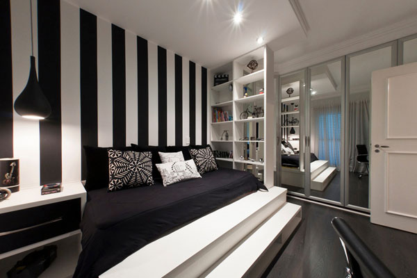 Stunning Black and White Bedroom Wall Ideas 600 x 400 · 44 kB · jpeg