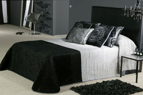 Fancy Bedroom Idea. 30 Groovy Black And White Bedroom Ideas   SloDive