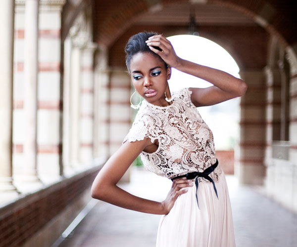 royce dress 30 Beautiful Black Girl Hairstyles