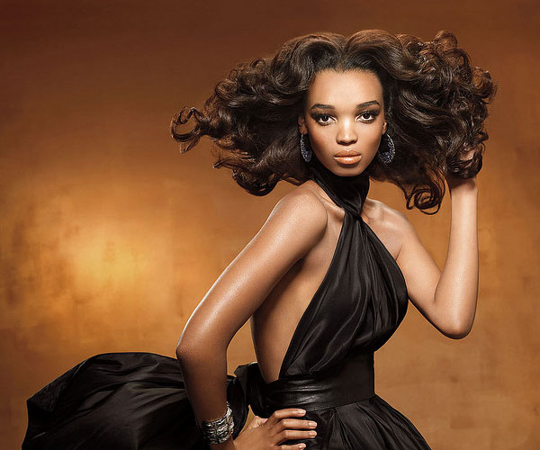 wavy black hairstyle 30 Beautiful Black Girl Hairstyles