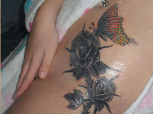 Exotic Black Rose Tattoo Designs With Images Design Press