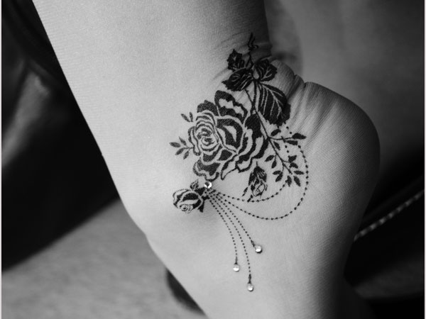 Exotic Black Rose Tattoo Designs With Images Slodive