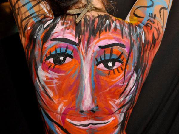 body painting female 40 Perfect Body Painting on Female Persons