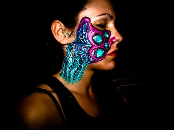 freestyle body painting 40 Perfect Body Painting on Female Persons
