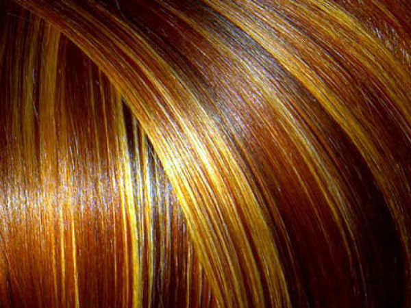 cool blue highlight 40 Striking Brown Hair With Highlights
