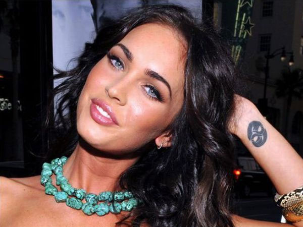 Megan Fox Wrist Tattoo