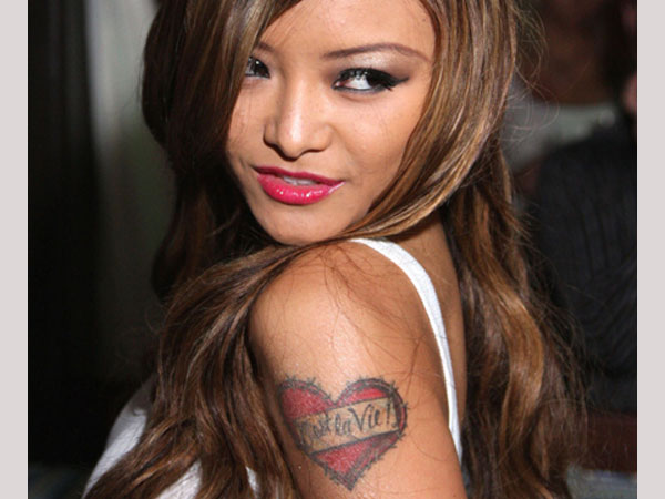 tila tequila 25 Awesome Celebrity Tattoos Female