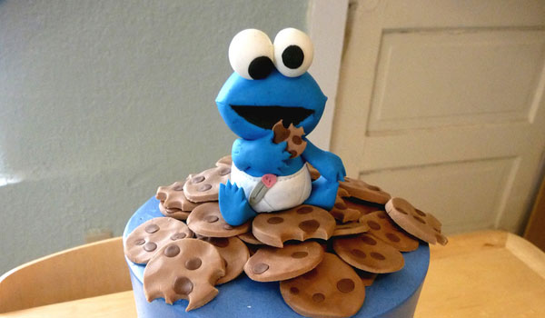 baby cookie monster cake 25 Cool Cookie Monster Pictures