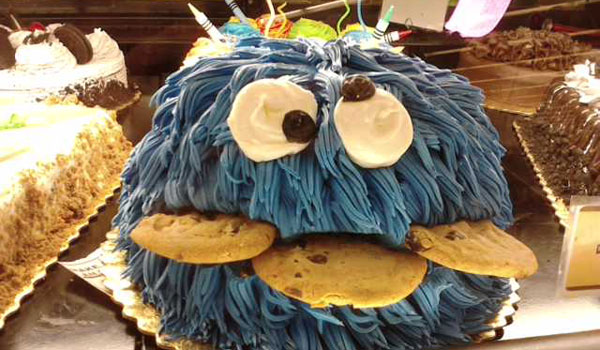 baked cookie monster 25 Cool Cookie Monster Pictures