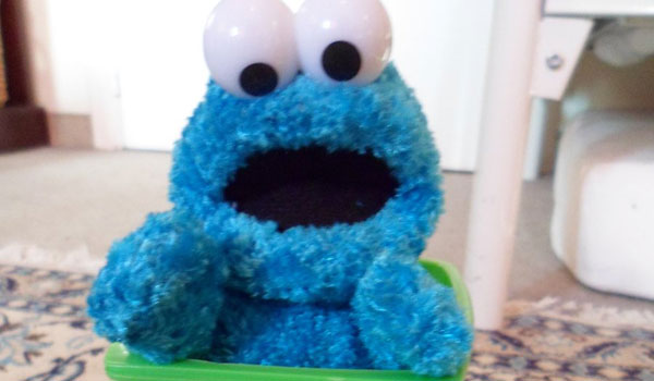cookie monster trash 25 Cool Cookie Monster Pictures