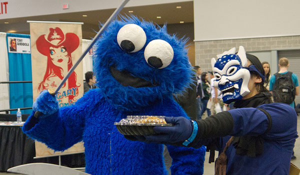 fan expo vancouver 25 Cool Cookie Monster Pictures