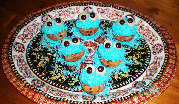 pretty cupcakes 25 Cool Cookie Monster Pictures