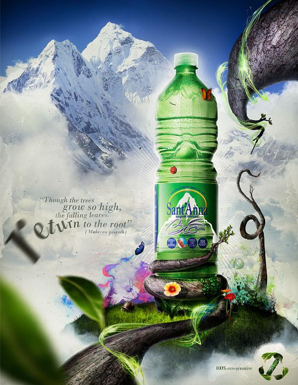 Eco Bottle Ads