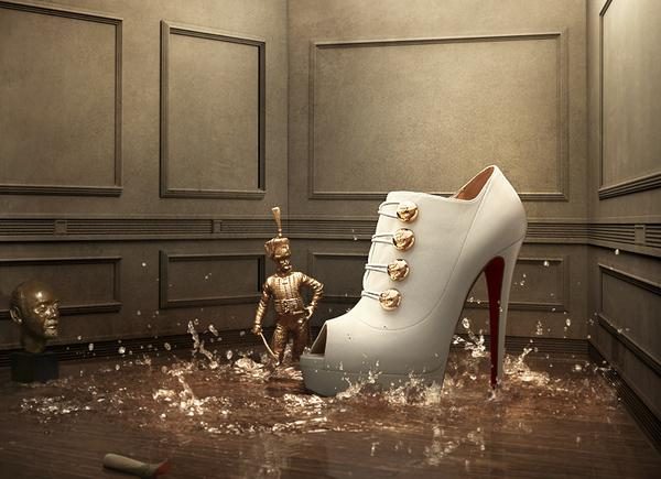 louboutin stories 35 Creative Advertisement Posters For Your Inspiration