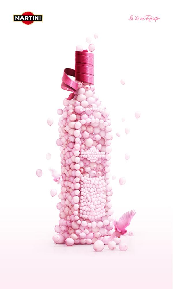 martini rosato 35 Creative Advertisement Posters For Your Inspiration