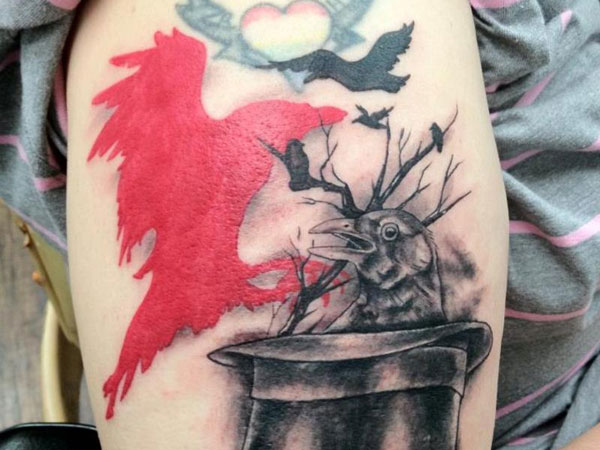 Red Crow Tattoo