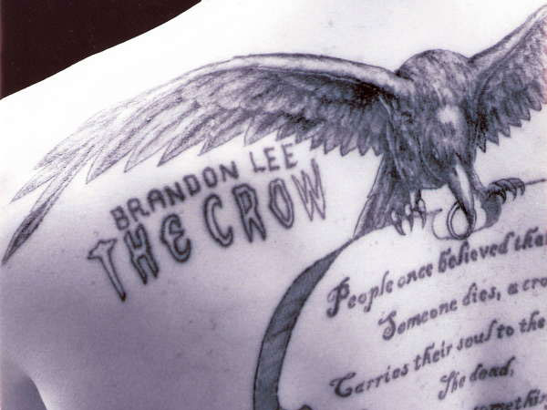 the crow 25 Wonderful Crow Tattoo Collection